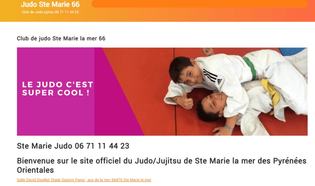 marketing judo st marie